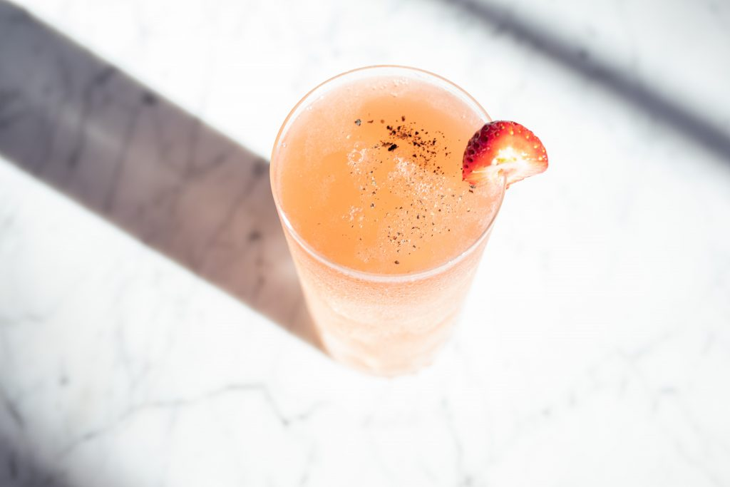Picture of Allora cocktail made with Fleurette Gin