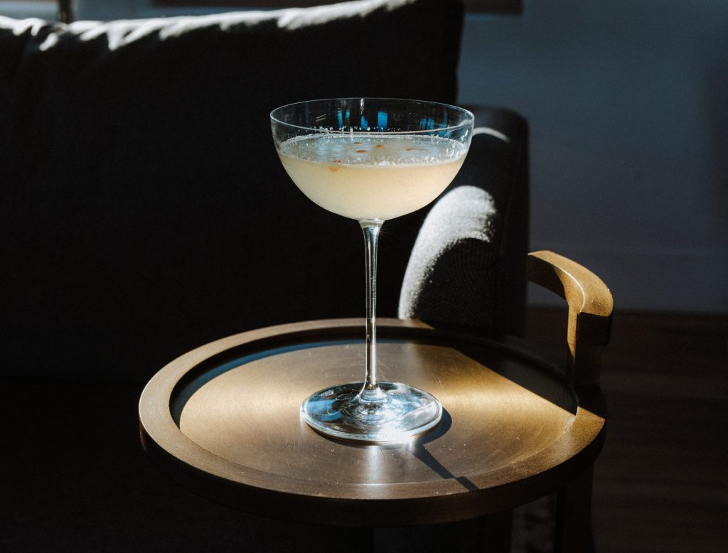 Picture of Bees Knees cocktail made with The Arborist Gin