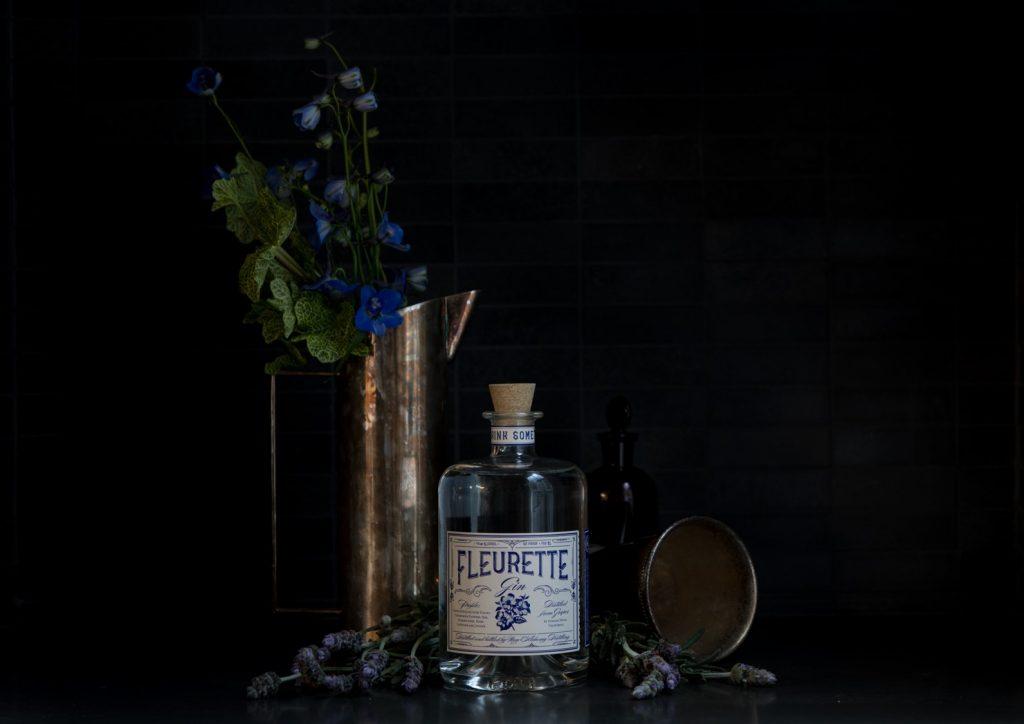 Still life photograph of Fleurette Gin
