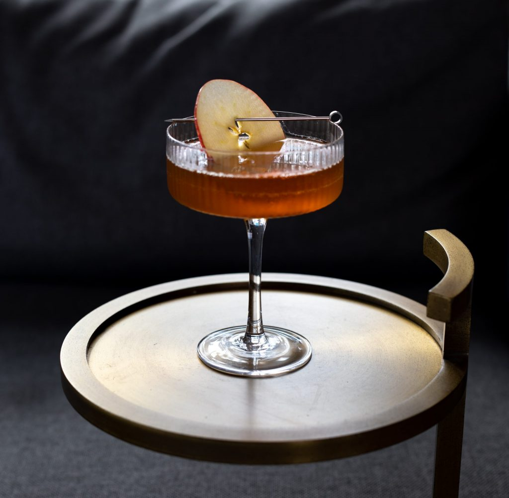 Picture of This Guy Fawkes cocktail made with Fylleangst Aquavit