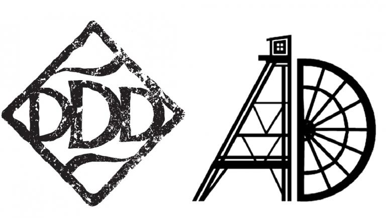Dry Diggings Distillery and Amador Distilling logos